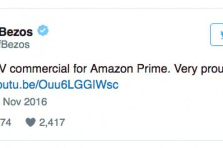 亚马逊会员的新广告,是贝索斯向川普释放信号?