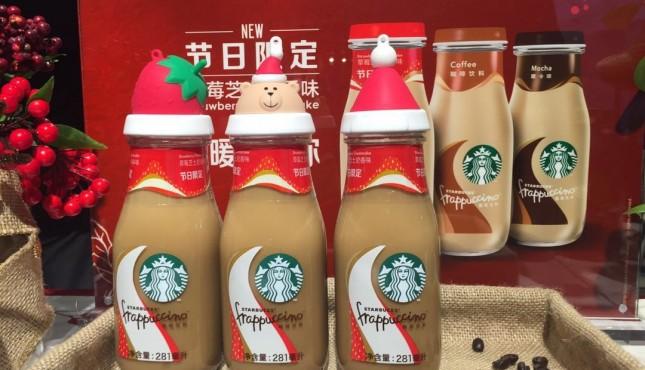 高调发布一款节日特饮,星巴克想卖更多即饮咖啡了